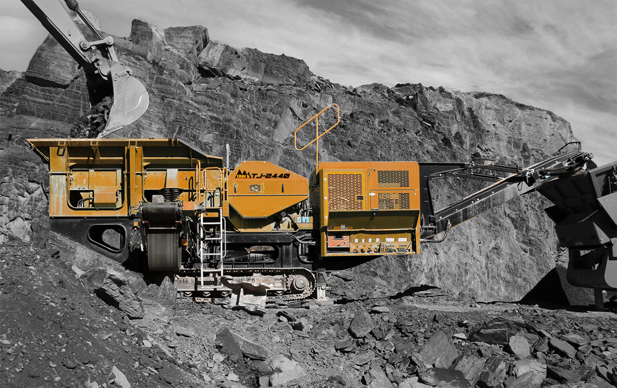 TJ-2440 – Mobile Jaw Crusher